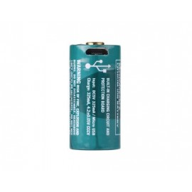 AKUMULATOR OLIGHT 3,7V  RCR123A/16340 650 mAh -USB