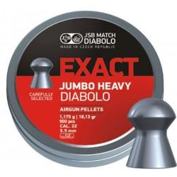 ŚRUT DIABOLO JSB EXACT JUMBO HEAVY 5,5MM 500SZT.