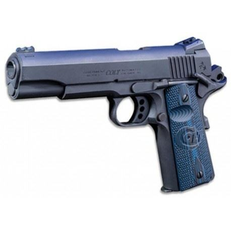 BROŃ PISTOLET COLT 1911 GI GOVERNMENT 45 ACP BLUE