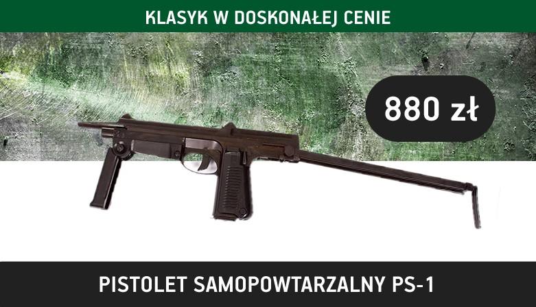 Pistolet samopowtrzalny PM-1